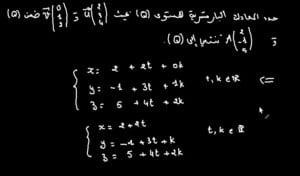 المعادلة-البارامترية-2-لمستوى-768x450