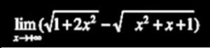 حساب النهايات و الأشكال الغير محددة