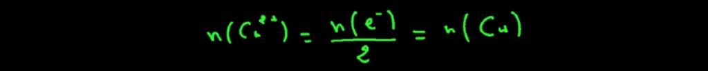 تحديد-كمية-مادة-الالكترونات